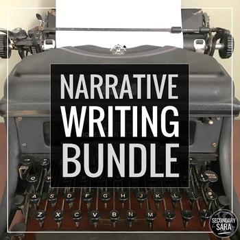 Creative Writing/ Narrative BUNDLE: Full YEAR of Prompts,