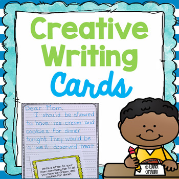 Creative Writing Prompt Task Cards