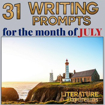Creative Writing Prompts for July