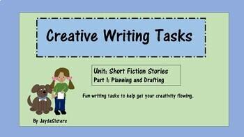 Creative Writing Tasks, Unit: Short Fiction Stories (part