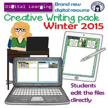 Creative Writing Digital Learning pack: Winter