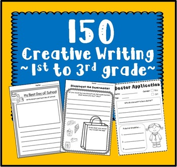 Creative Writing for 1st to 3rd Graders