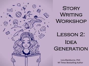 Creative Writing Workshop Lesson 2: Freewriting and Idea G
