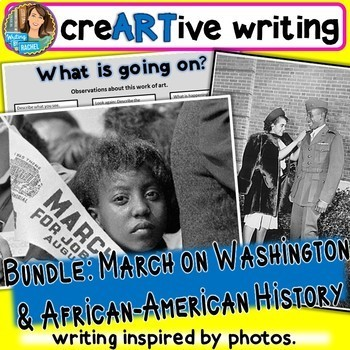 Creative Writing with African-American history AND March o