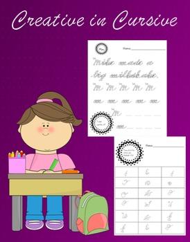 Writing: Creative in Cursive!