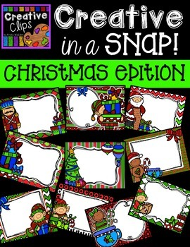 Creative in a SNAP: Christmas Clipart Edition {Creative Cl