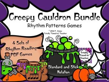 Creepy Cauldron Bundle - Rhythm Game Files