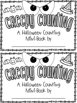 Creepy Counting {A Halloween Counting Mini-Book} {Common C
