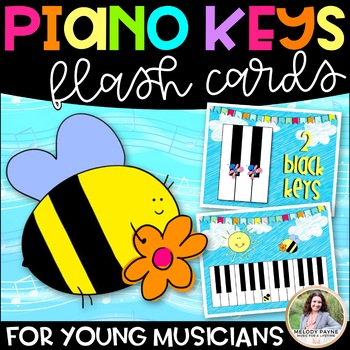 Creepy Crawly Keys: Giant Piano Key Flash Cards for Young