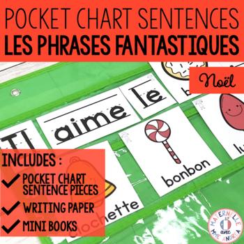 Phrases fantastiques! - Noël (FRENCH Christmas Pocket Char