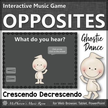 Crescendo vs Decrescendo - Ghostie Dance Interactive Music