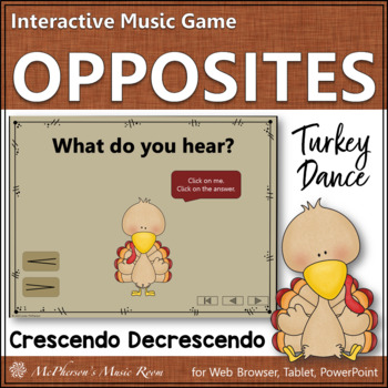 Crescendo vs Decrescendo - Turkey Dance Interactive Music
