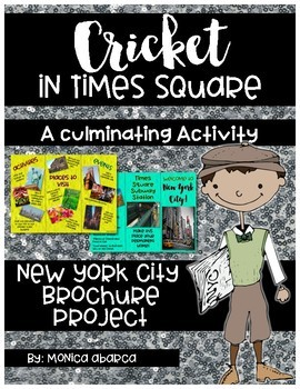 Cricket in Times Square Brochure Project