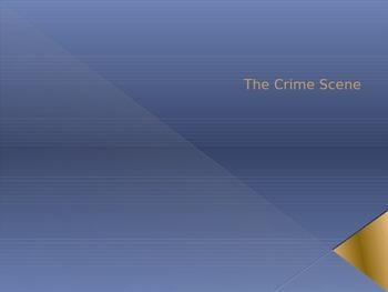 Crime Scene PowerPoint