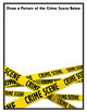 Crime Scene: Reader Response Sheets For Use with Any Work