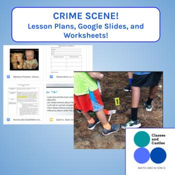 Crime Scene investigation- Qualitative and Quantitative Ob