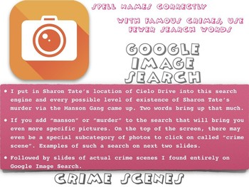 Crime Scenes & How to Search for Them Online ~ Criminal La