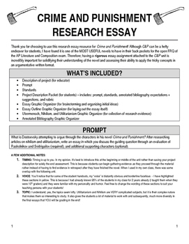 Crime and Punishment Research Project Resources