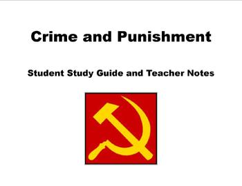 Crime and Punishment Student study guide AND teacher key