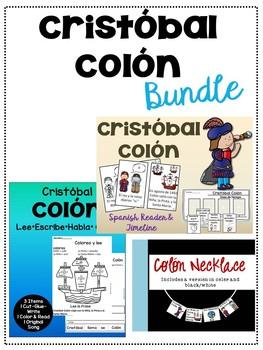Cristóbal Colón Spanish Bundle {Christopher Columbus}
