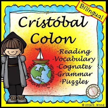 Christopher Columbus (Cristobal Colon) Bilingual Reading/