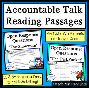 Critical Reading Stories to Enhance Accountable Talk