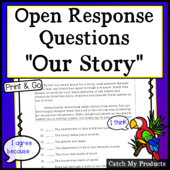 Reading Comprehension Passage to Enhance Accountable Talk