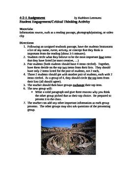 Critical Thinking 4-2-1