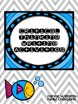 Critical Thinking Writing Activities
