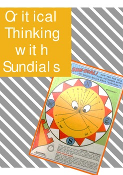 Critical Thinking for Geometry (Using Sundials!)
