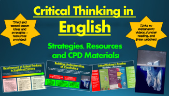 Critical Thinking in English: Strategies, Resources, and C