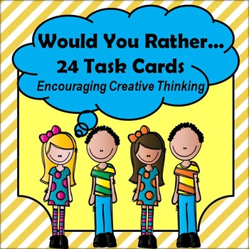Critical and Creative Thinking Task Cards