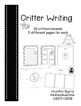 Critter Writing