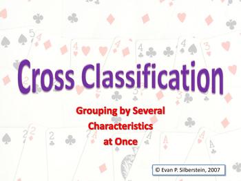 Cross Classification: The Classification Scheme of the Per