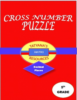 Cross-Number Puzzle - Decimal Places