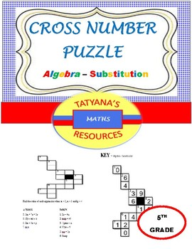 Cross-Number Puzzle - Substitution