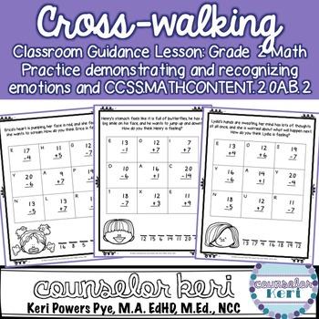 Cross-walking Classroom Guidance Lesson for Grade 2 Math: