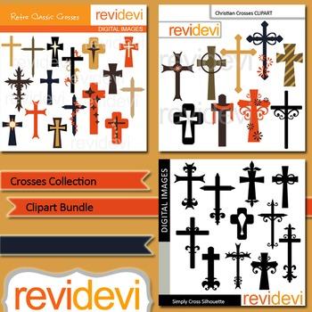 Crosses Collection Clip art bundle (3 packs)