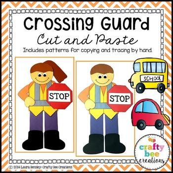 Crossing Guard Cut and Paste