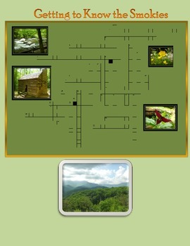 Crossword Puzzle - Getting to Know the Great Smoky Mtn NP