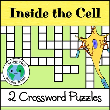 Crossword Puzzle - Inside the Cell Part 1 and 2