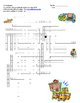 Crossword Puzzle- School Vocabulary (Realidades 2 Ch. 1A)