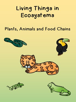 Crossword Puzzles - Living Things in Ecosystems - Plants a