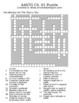 "Crossword Puzzles for ""Astronomy"" A Self-Teaching Guide"" ("