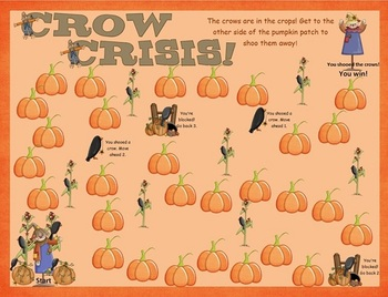 Crow Crisis for r-controlled vowels. Autumn Fall themed.