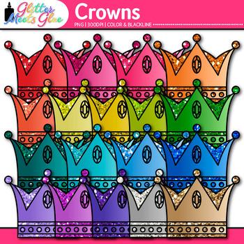 Crown Clip Art - Prince Crown Clip Art - Princess Crown Clip Art
