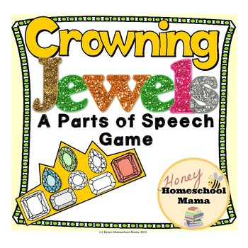 Crowning Jewels - A Parts of Speech Game Covering 8 Basic