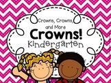 Crowns for KINDERGARTEN (First Week of School - Back to School)