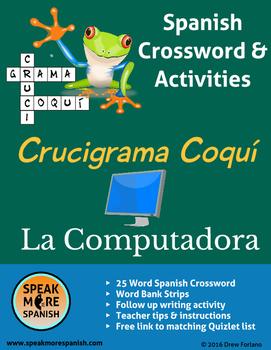 Crucigrama y Rompecabezas * La Tecnología * Spanish Crossword