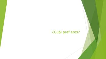 """Cual prefieres (con la salud)- """"Would You Rather...?"""""""